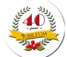 Jubileum 40 Jaar Getrouwd